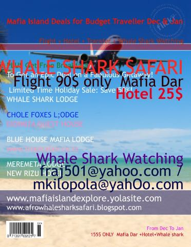 Fly to Mafia island 90$ only